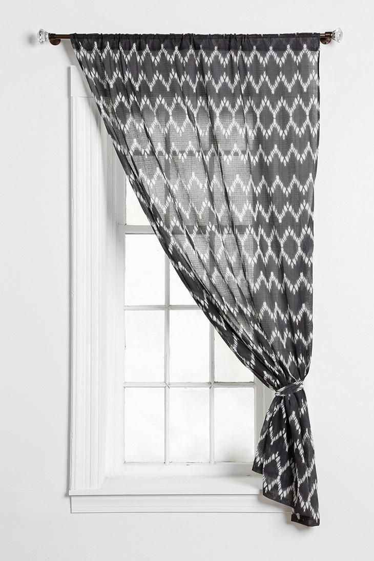 Magical Thinking Chevron Curtain: Living Room, Bedrooms Curtains Lik, Bedrooms Curtainlik, Room Design, Chevron Curtains