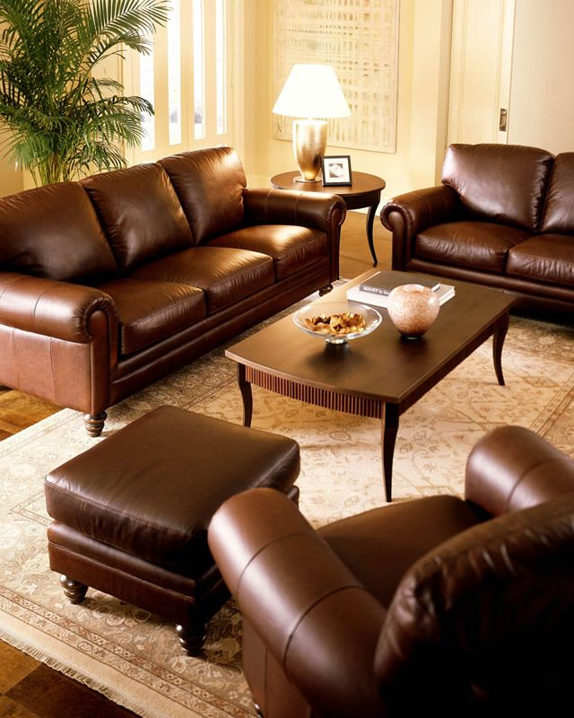 most comfortable leather sofa with classic design love it