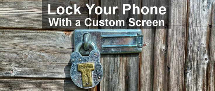 Replace the lock screen with better one on your #Android #phone. Is the lock screen on your phone boring? Would you like a different one? There are lots of free apps in the Google Play Store that replace the lock screen. Here are four great freebies to try.