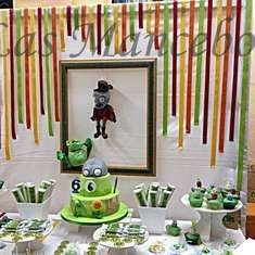 Candy Bar Plants & Zombies - Plants vs. Zombies