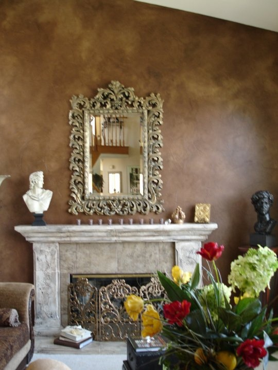 18 Best Images About Fireplace Faux Finishes On Pinterest