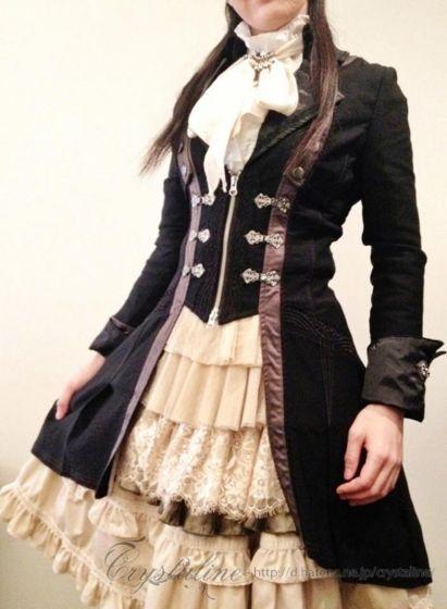 スチームパンクファッション 2013 Spring/Summer - Crystaline:スチームパンクな淑女の叙事詩