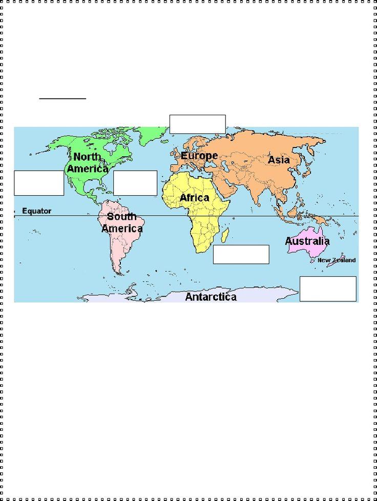 3rd Grade | Oceans Worksheet