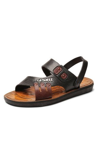 Men Sandals Slippers Outdoor Casual Men'S Summer Shoes(Black) - Intl | Price: ฿614.00 | Brand: Unbranded/Generic | From: Top Seller Shoes - รวมรองเท้าแฟชั่น รองเท้าผู้ชาย รองเท้าผู้หญิง ราคาพิเศษ | See info: http://www.topsellershoes.com/product/51415/men-sandals-slippers-outdoor-casual-mens-summer-shoesblack-intl