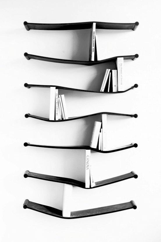 Rubber shelves