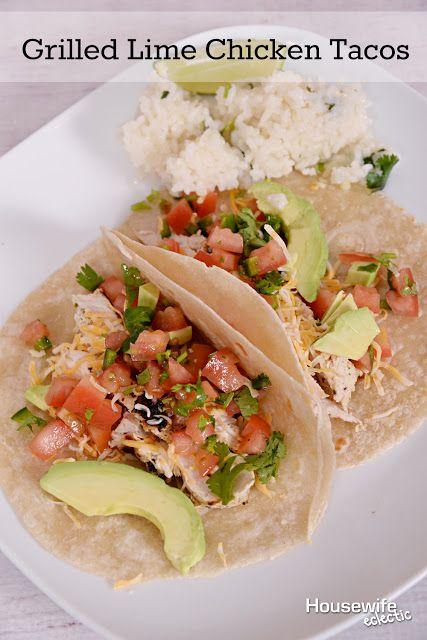 Lime chicken tacos, Lime chicken and Chicken tacos on Pinterest