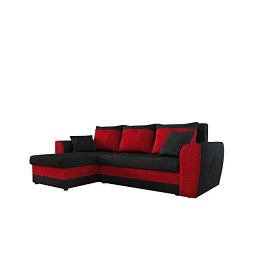 Mirjan24 Ecksofa Domo Eckcouch Couch Mit Schlaffunktion Bettkasten L