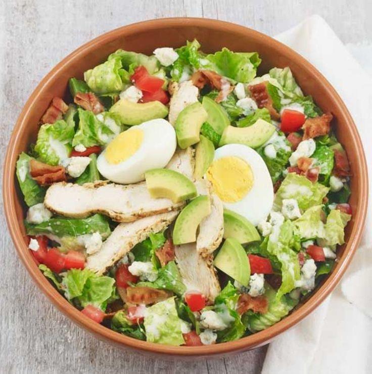 10 recetas de ensaladas fáciles, saludables y deliciosas