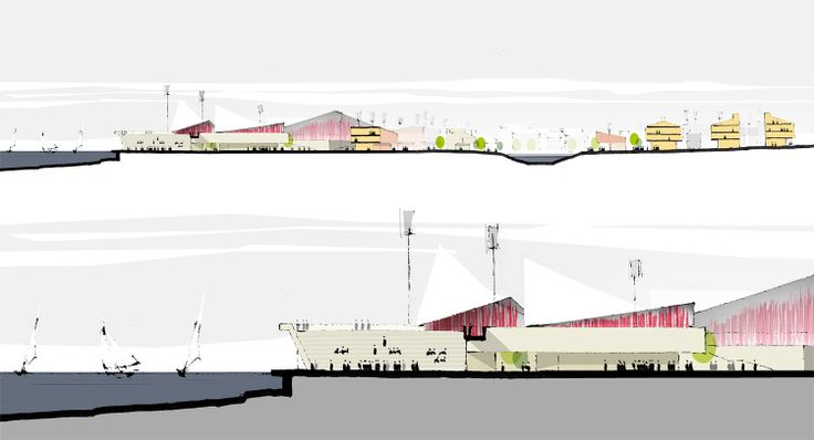 Project for the new town centre of Klaksvik, Faroe Islands