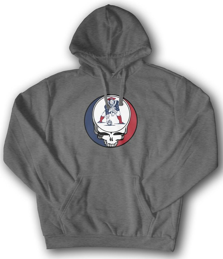 Grateful Dead SYF New England Patriots Hoodie