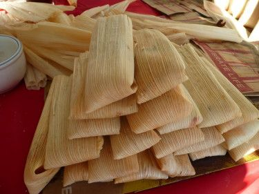 These tamales are really moist and the filling is full of flavor. You can adjust the heat to your liking. It is a Rick Bayless recipe. The directions include thorough directions for wrapping the tamales or if you prefer, you can use your favorite method.If using store bought prepared masa, make sure to use Masa for tamales and not Masa for Tortillas.