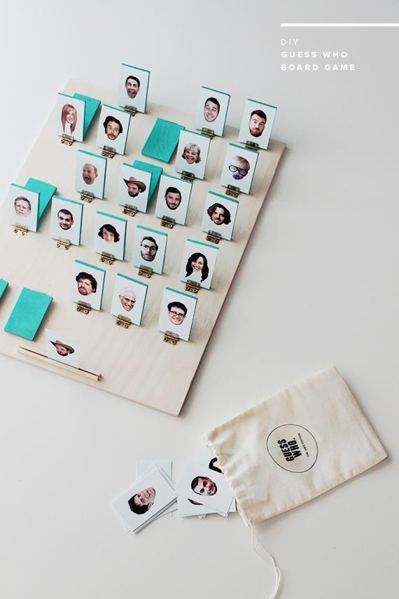 Are you a fan of board games? Learn how to create your own DIY 'Guess Who?' game board with photos of your friends and family.