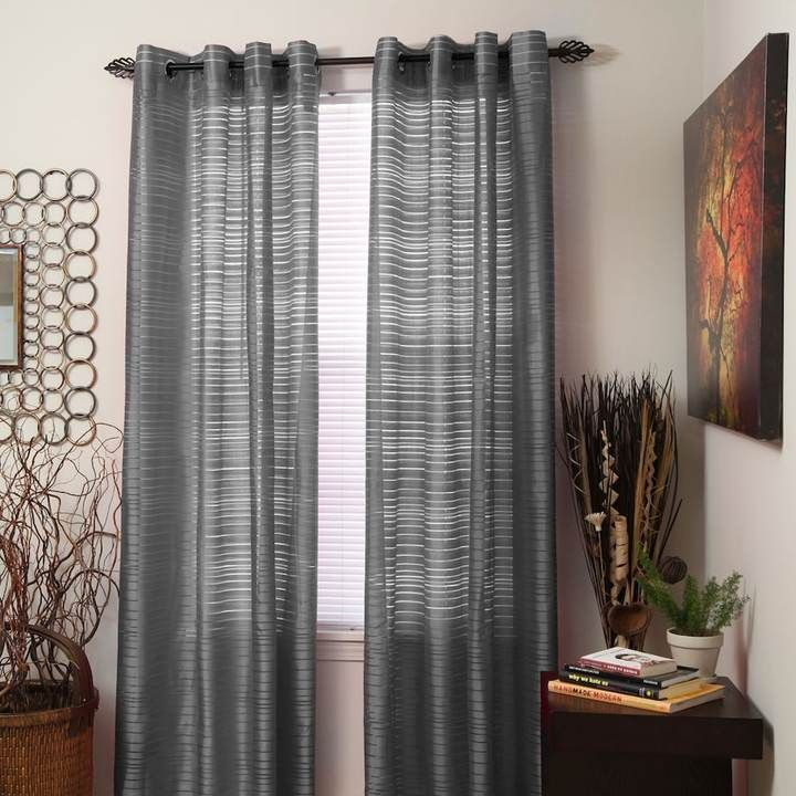 Die besten 25+ Grey striped curtains Ideen auf Pinterest - vorhange wohnzimmer grau