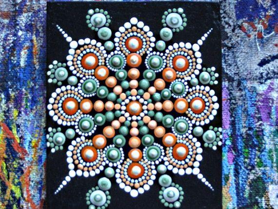 Langue source. Mandala automne. Une technique par AnnaSmirnova74