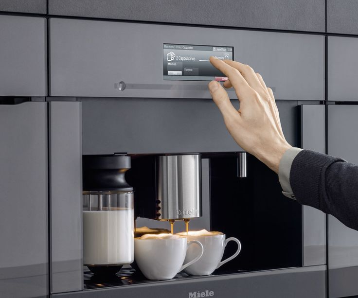 Miele koffieautomaat inbouwapparaat #koffie