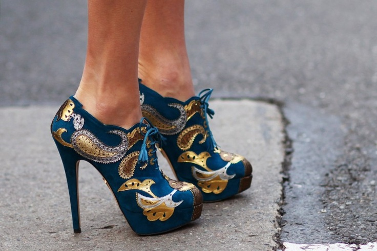 Charlotte Olympia shoes (New York Fashion Week Fall Winter 2012)