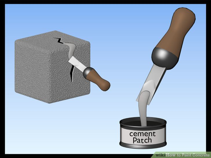 How to Paint Concrete: 10 Steps (with Pictures) - wikiHow