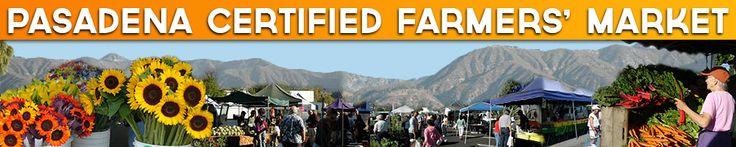 Pasadena Certified Farmers' Markets,at Victory Park, Pasadena, California Saturdays 8:30a-12n