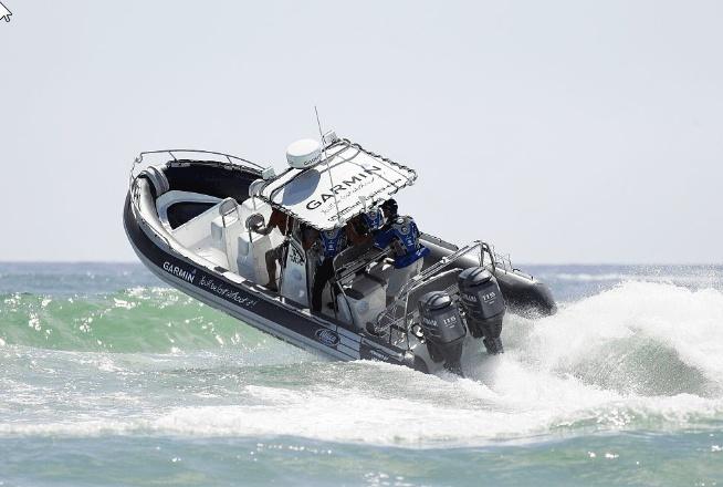 Garmin RIB fully loaded with marine product