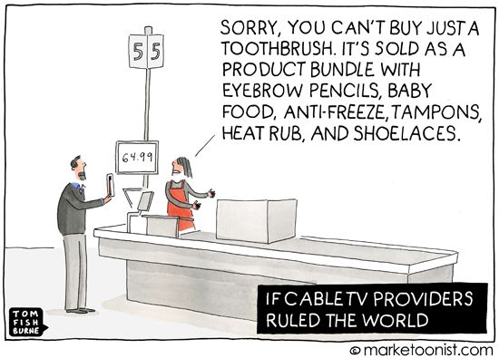 Product Bundles - if cable companies ruled the world - Tom Fishburne