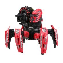 KEYE Toys 9006-1 2.4G Remote Control Space Warrior DIY Assembly Battle Robot RC Toy