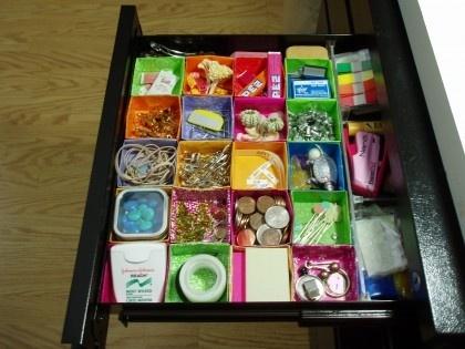 64 best ideas about organization on pinterest free gift - Origami desk organizer ...