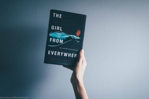 "rainydayscoffeeandbooks: "" Diverse Reads: The Girl from Everywhere by Heidi Heilig 