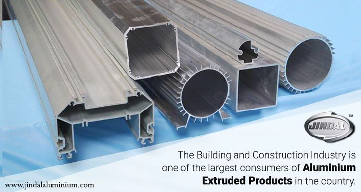 The Building and Construction Industry is one of the largest consumers of aluminium extruded products in the country. Where are aluminium extruded profiles used in the B&C industry? •	prefabricated structures •	windows and door frames systems •	curtain walling •	structural glazing •	roofing and exterior cladding •	space frame systems •	scaffolding and beams •	Extrusions for partitions  http://www.jindalaluminium.com/jindal-product.php JindalAluminiumLimited #AluminiumExtrusion