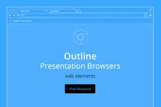 This is a series of 3 vector outline browser to help you showcase projects with style.It is comprised of a chrome,...