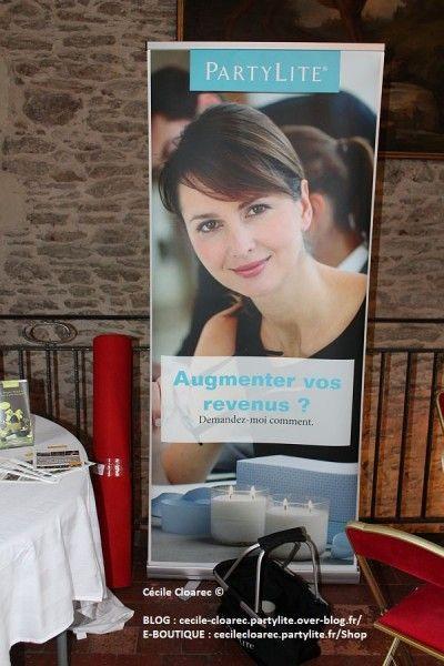 A la recherche d'un complément de revenu ? Photo et montage par Cécile Cloarec Conseillère PartyLite