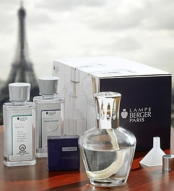 Exquisite French fragrance lamp from luxury home fragrance experts Lampe Berger.