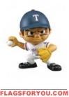 """Rangers Lil' Teammates Series 3 Pitcher 2 3/4"""" tall"""