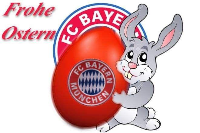 Pin Von Cornelia Hiegemann Auf Fcb Bayern Munchen Frohe Ostern Frohe Ostern Grusse Ostern Bilder