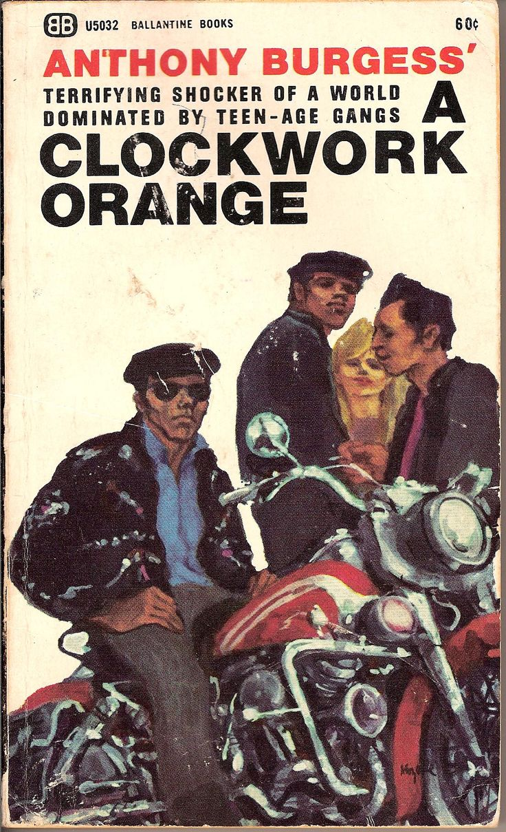 an overview of the american edition of the novel a clockwork orange by anthony burgess Alex is a fictional character in anthony burgess' novel a clockwork orange and the  in the novelthe american film  british edition of a clockwork orange.