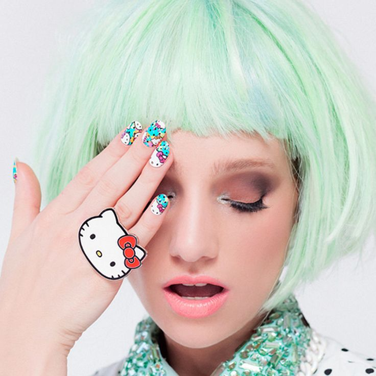 These Hello Kitty Nail Wraps Are Our New Feline Obsession