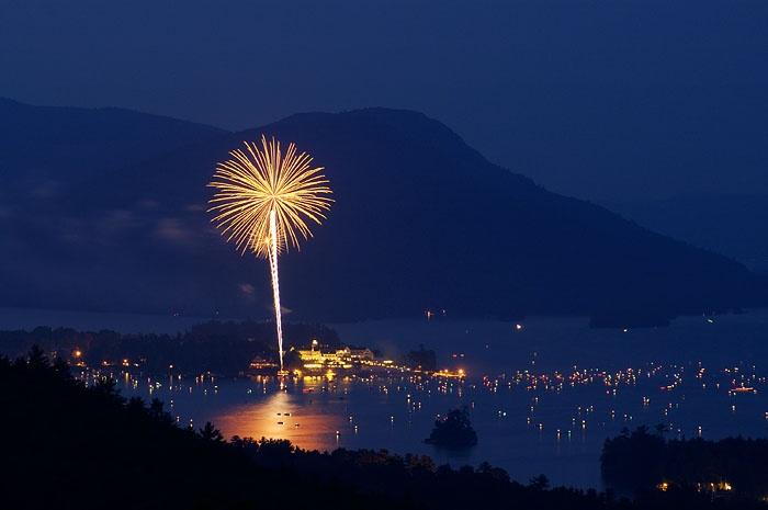 lake george 4th of july celebration