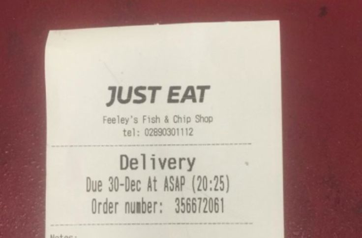 Fish and chips and flu pills: Sick customer's delivery order goes viral