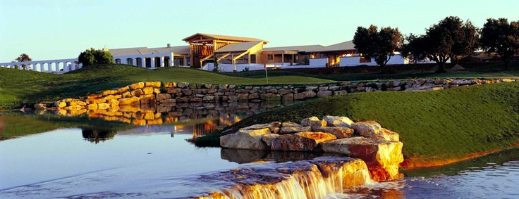 The Club House for the Portugal Masters Golf 2012