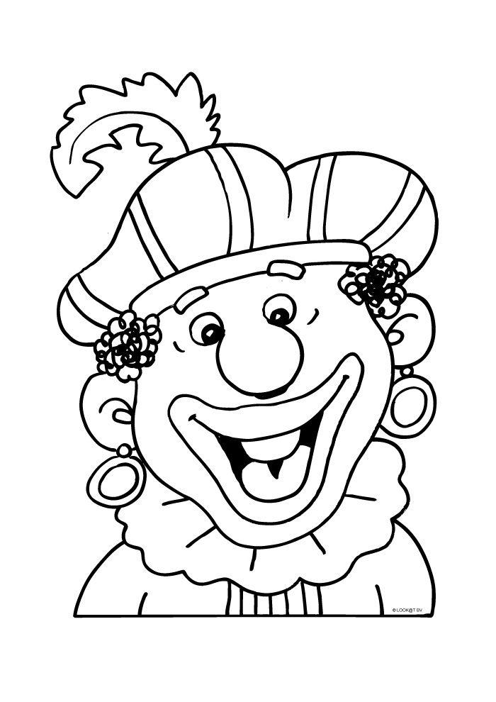 Zwarte Piet blij