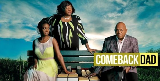 """July 12th at 8pm EST watch the #UPtv Movie """"Comeback Dad"""" starring Charles S Dutton, Loretta Devine, Tatyana Ali, and Brad James. #Uplifting #Entertainment"""