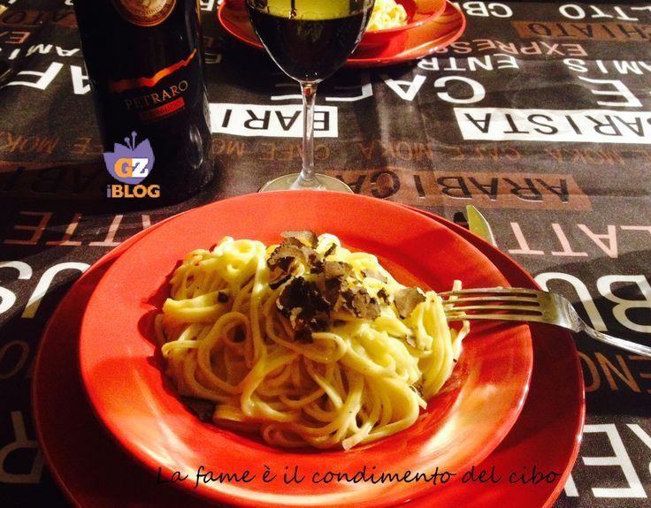 Tagliolini al Tartufo Nero...Un piatto semplice e veloce da preparare, ma dal sapore e profumo intenso. #Tartufo #BlogGZ #Ricetta