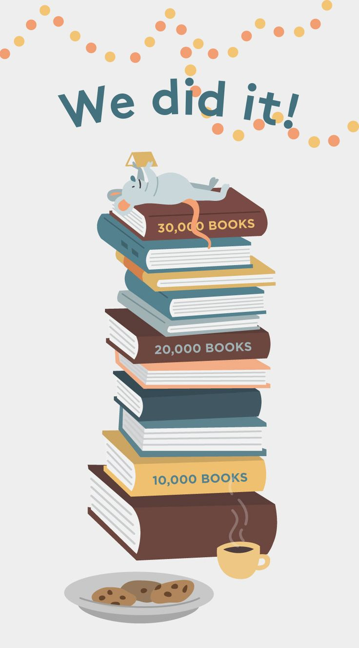 Thank you for helping us reach our goal of donating 30 000 books to first book through