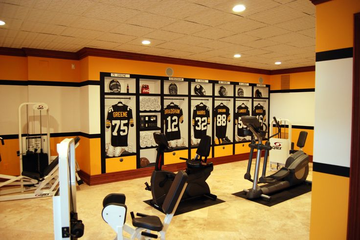 Man Cave Locker Room : Best images about pittsburgh steelers football locker