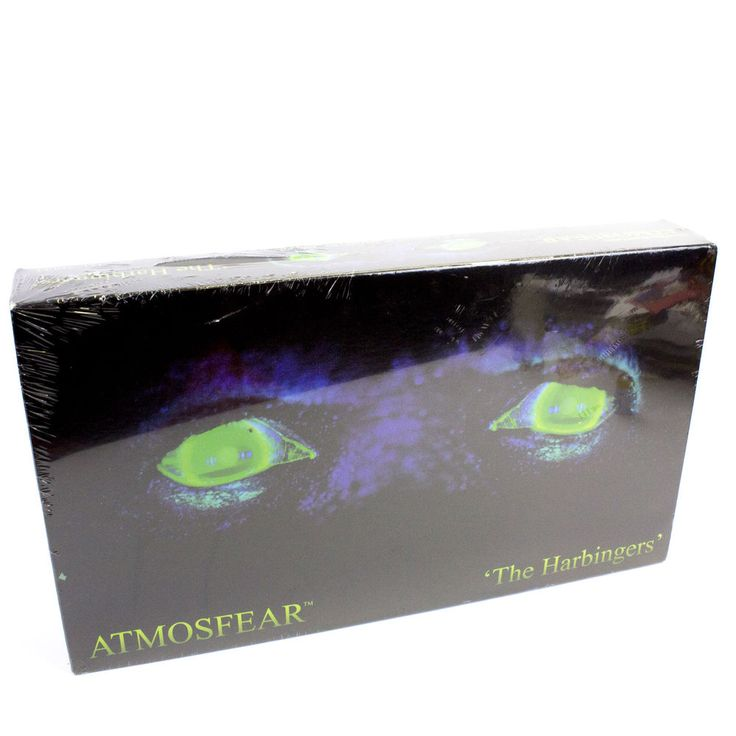 Vintage Atmosfear: The Harbingers VHS Board Game, Sealed, BNIB