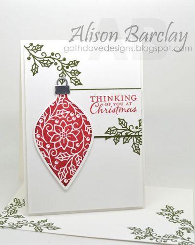 手机壳定制where to buy shoes online singapore CCMC  Alison Barclay  SU  Embellished Ornaments stamp set  Christmas