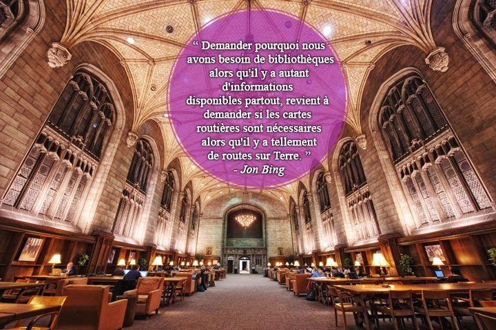 28 citations qui prouvent que les bibliothèques sont de véritables trésors qu'il faut sauvegarder