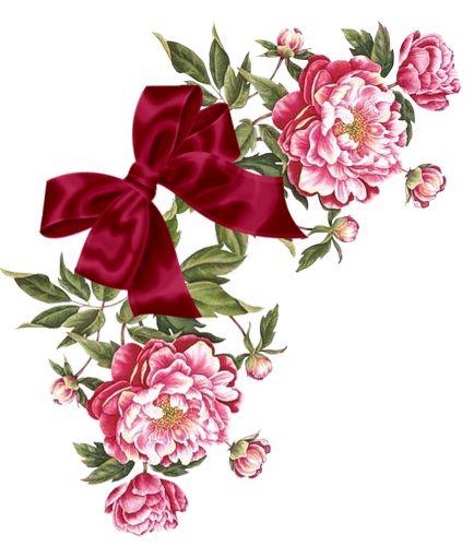 Imagens Para Decoupagem - Flores, Imagens Para Scrapbooking, Rosas e Flôres, Flores Vintage.