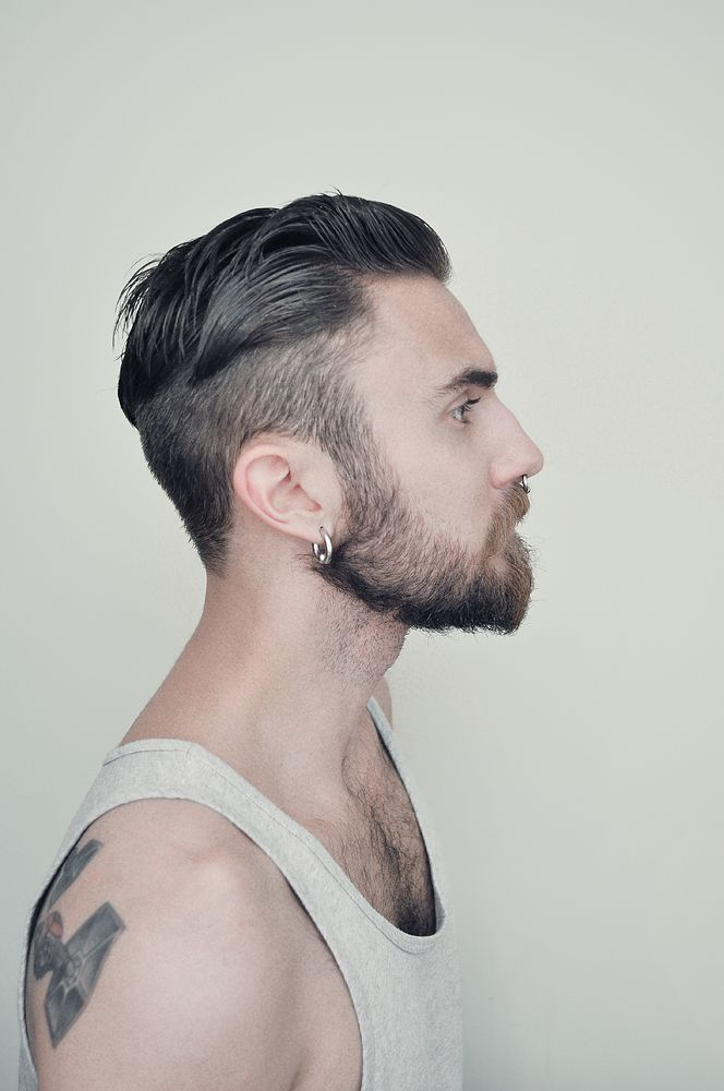 Undercut With Medium Length Top | Undercut Hairstyle: 45 Stylish Looks