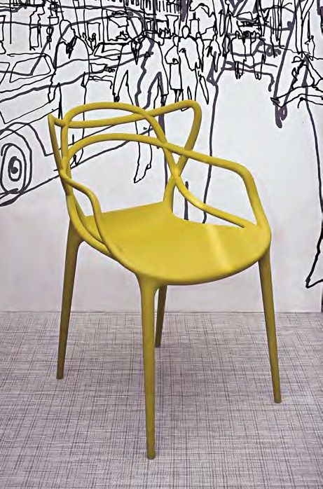 Silla Masters, diseño de Philippe Starck, en Kartell.