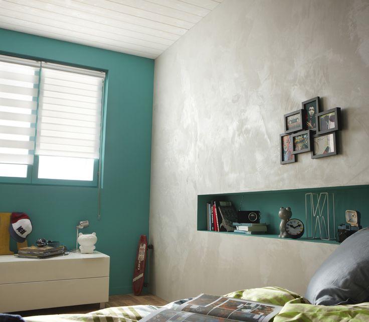 From leroy merlin · accord parfait entre les 2 couleurs de murs